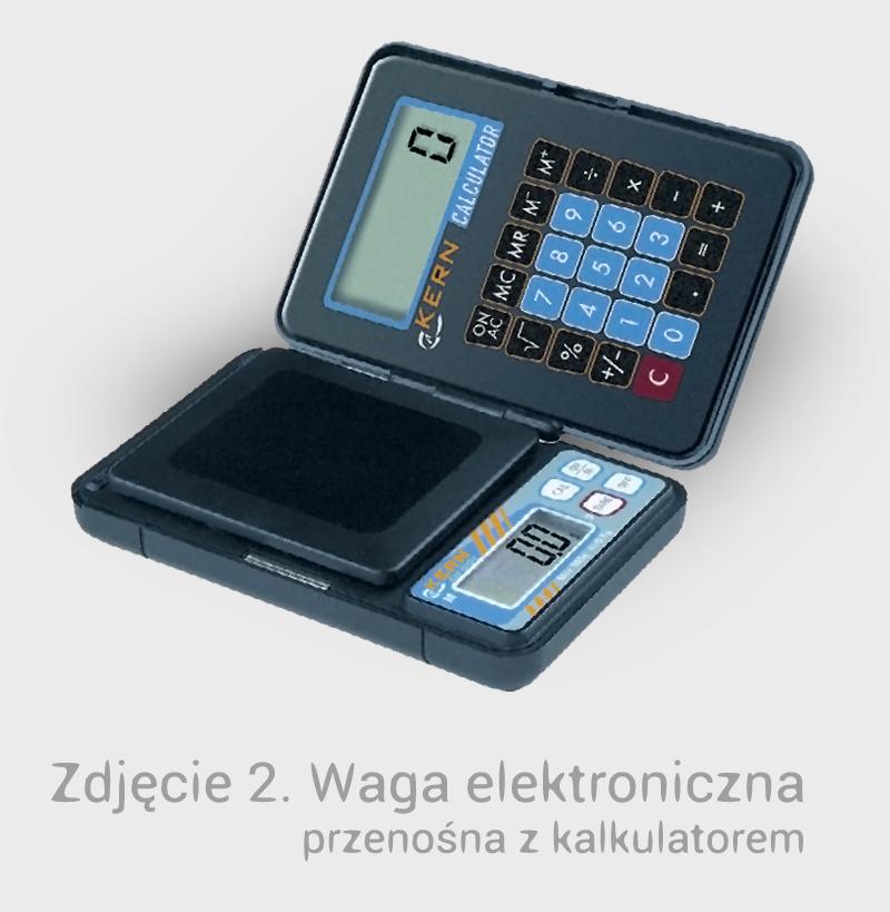Waga elektroniczna z kalkulatorem